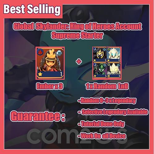 [Global-Asia] SkyLander: Ring of Heroes SkyROh Account Supreme Starter