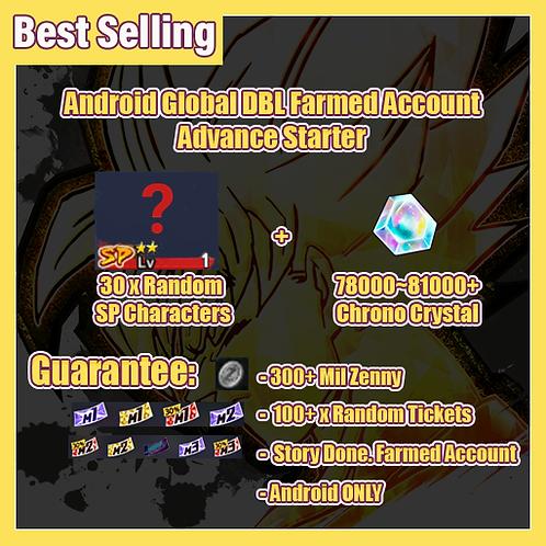 [Global | Android ] Dragon Ball Legends Fresh Account Advance Starter