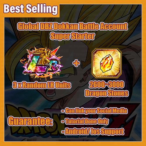 [Global | Anroid/Ios] Dragon Ball Z Dokkan Battle Account Super Starter 1