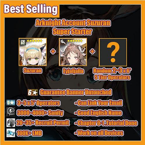 [Global] Arknights A9 Account Suzuran Super Starter