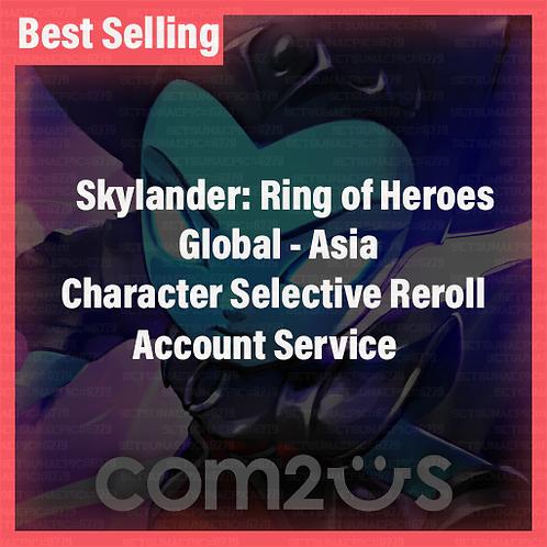 [Global - Asia] SkyLander : Ring of Heroes SkyROH Accounts Selective Starter