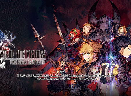 New Release of March 2020 : War of the Visions Final Fantasy Brave Envius