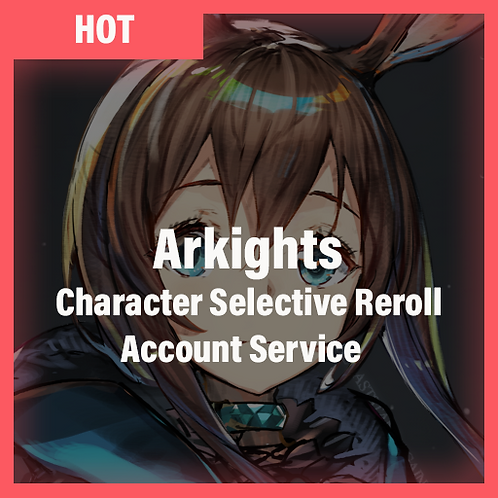 [Global/Japan] Arknight Accounts Character Selective Starter