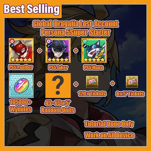[Global] Dragalia Lost DL Account Persona 5 SuperStarter