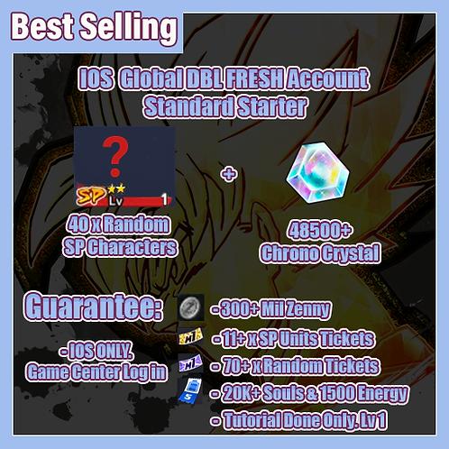 [Global | Ios ] Dragon Ball Legends Fresh Account Standard Starter