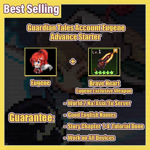 [NA/Asia/Eu] Starter Guardian Tales GT Eugene Advance Starter Account
