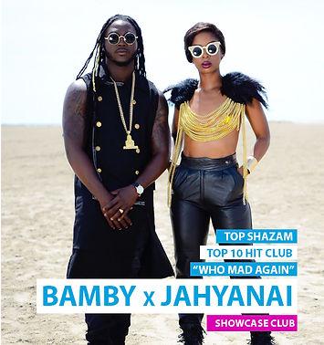 Booking JAHYANAI X BAMBY