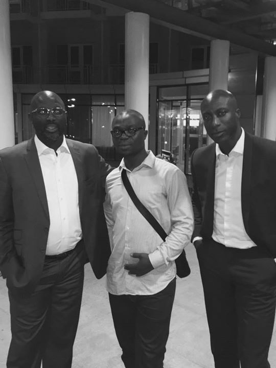 Georges WEAH, Ozwald BOATENG