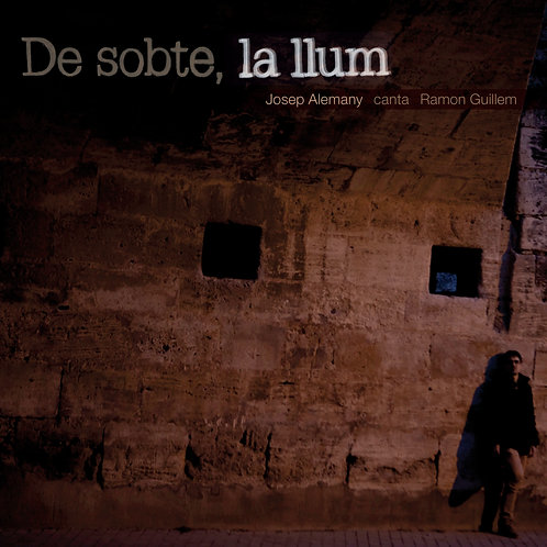"""Josep Alemany """"De sobte, la llum"""""""
