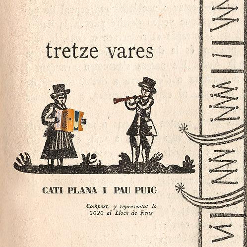 """Cati Plana i Pau Puig """"Tretze vares"""""""