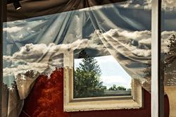 Antiques Window, Jaffrey, NH