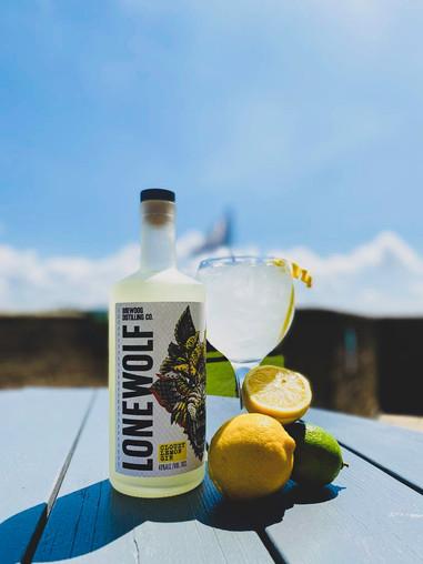 Lone Wolf Cloudy Lemon Gin