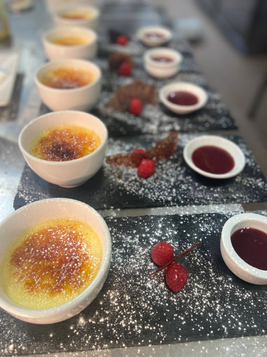Crème Brûlée - Set Menu