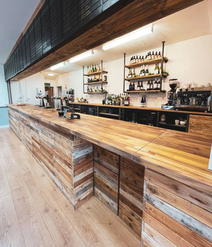 Recently Renovated Bar