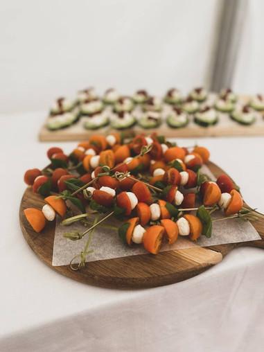 Tomato Skewers Buffet