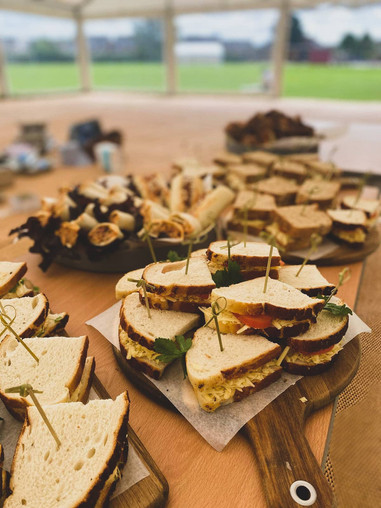 Array of Sandwiches
