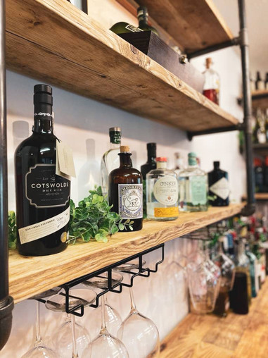 Wide Selection of Gin