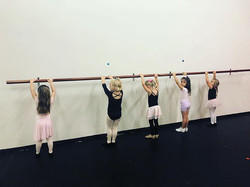 Dance adventures cuties at the barre!