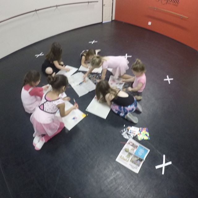 Some more photos from our princess ballerina's session during February break