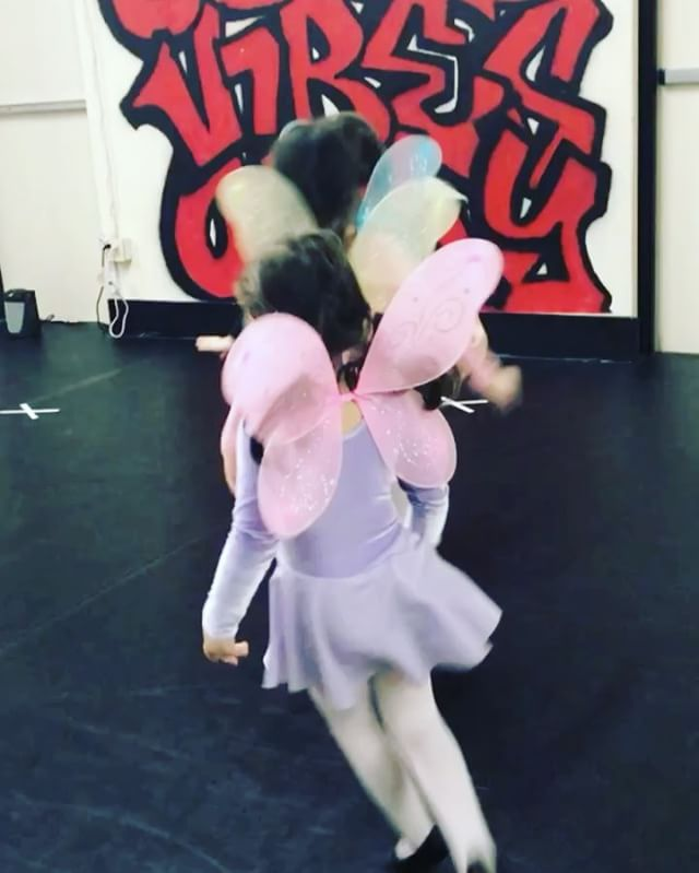 Our beautiful butterfly's in our Princess Ballerinas class! Be on the lookout for our next session s