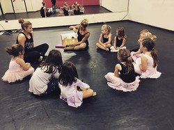 Princess Ballerinas was so much fun today! 🎀❤️ #ballet #ballerinas #princess #steps #kidsdanceclass