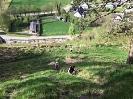 Reconnaissance trail le 14 mai