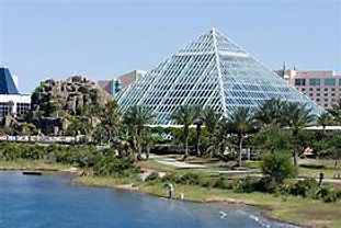 Moody Gardens Rainforest Pyramid