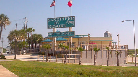 Sandpiper RV Resort building
