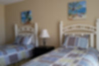 Guest rooms with twin beds