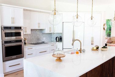 Custom work, kitchen overview -Wood Products Unlimited