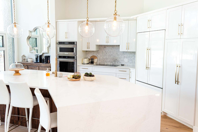 Custom work, kitchen, table, chairs closeup - Wood Products Unlimited