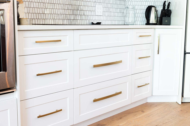 Custom work kitchen detail - Wood products Unlimited