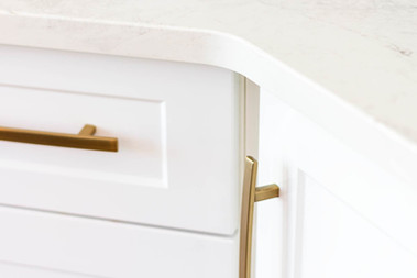 Custom work, kitchen detail, white drawer - Wood Products Unlimited