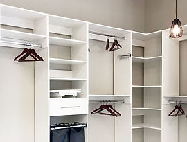 Wood Products Unlimited custom work, Closet Organizers