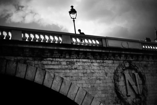 Pont Saint Michel, 17 octobre 1961.