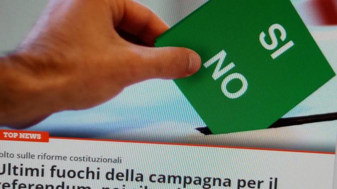 Zwei Tage vor dem Referendum