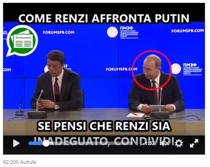 Italiens Chef - oder Mr. Bean?