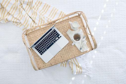 Laptop On Tray