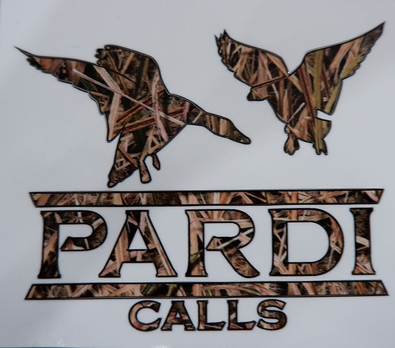 Pardi Duck Call Sticker