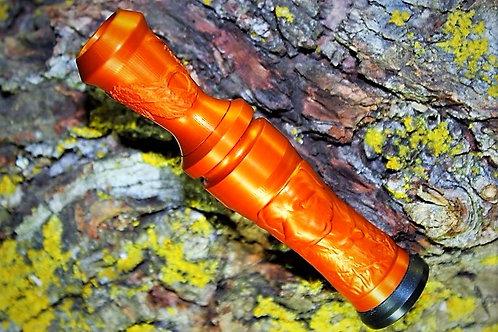 3D Labrador Double Feather Orange Nectar
