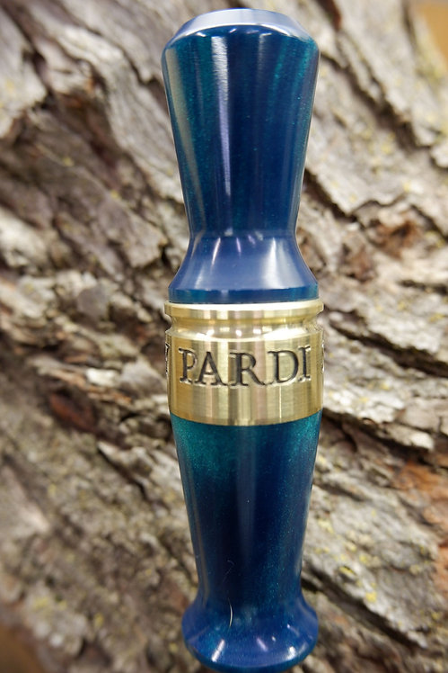 Pardi Acrylic Specklebelly Call - Polished Teal