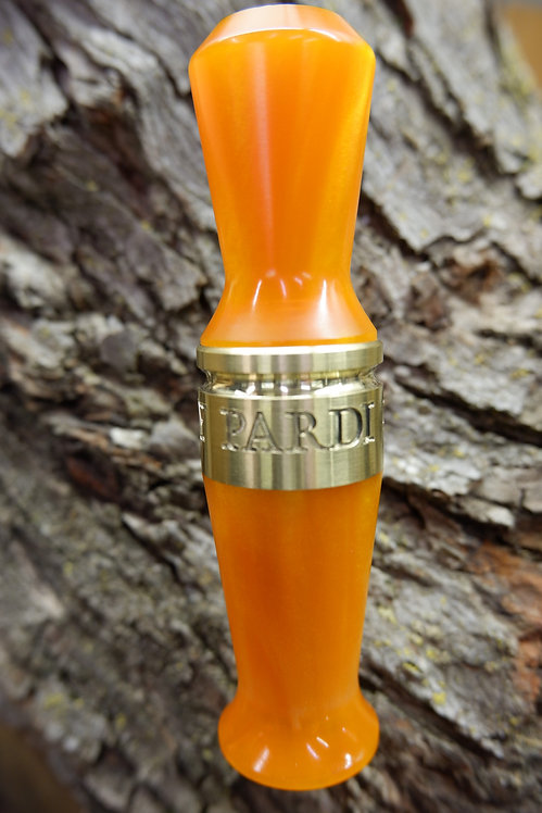 Pardi Acrylic Specklebelly Goose Call - Polished Tangerine