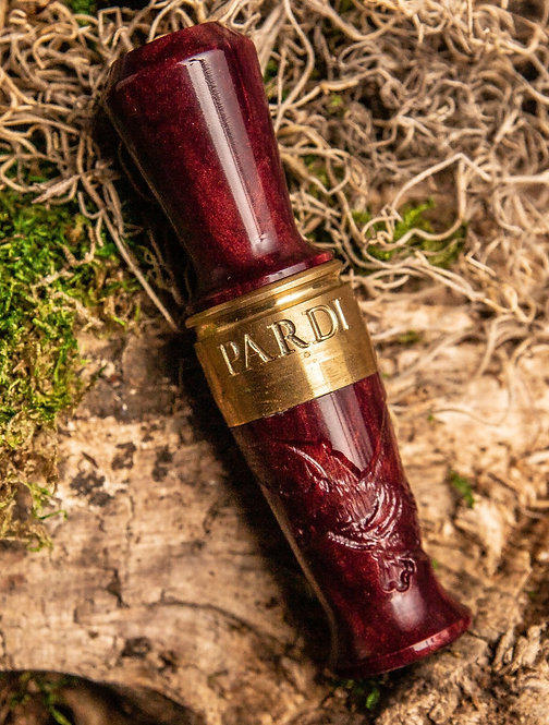 Pardi Engraved Speck Call - Mulberry