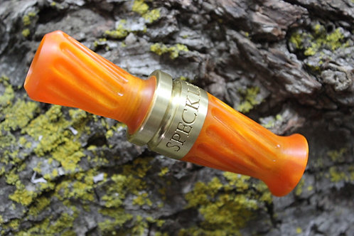 Pardi Acrylic Specklebelly Goose Call - Twisted Tangerine