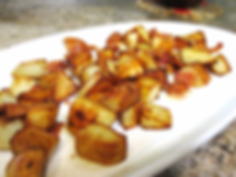 fried potatoes recipe, bacon potatoes recipe