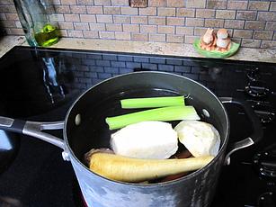 Chicken Noodle Soup, polish soup, Rosol