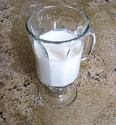 homemade kefr, healthy, calcium