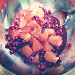 grapefruit salad recipe, pomegranate salad recipe, fruit salad recipes, fruit salads
