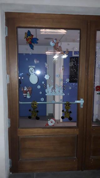 Bientôt Noël, nous avons installé les décorations.