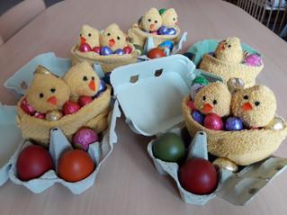 Belle fête de Pâques ! Le lapin est passé, et nous ne l'avons même pas vu !